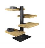 Gusta Gusta Serveertoren - 4 Bamboe Planken