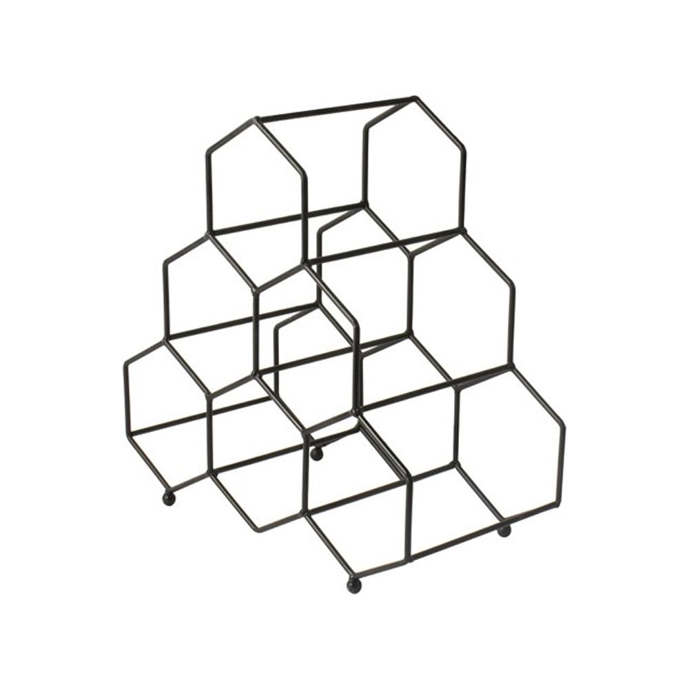 Gusta Gusta Metalen Wijnrek 33x16x33cm