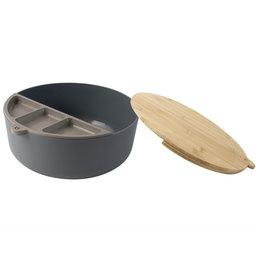 Gusta Gusta Bamboe Fiber Snack Schaal d25b10cm