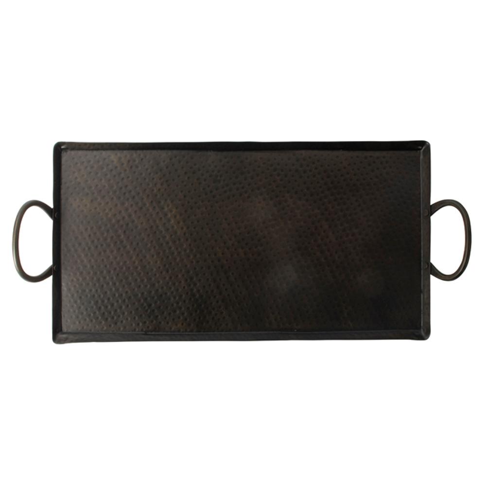 Gusta Gusta Metalen Serveer-en Decoplateau 46x2