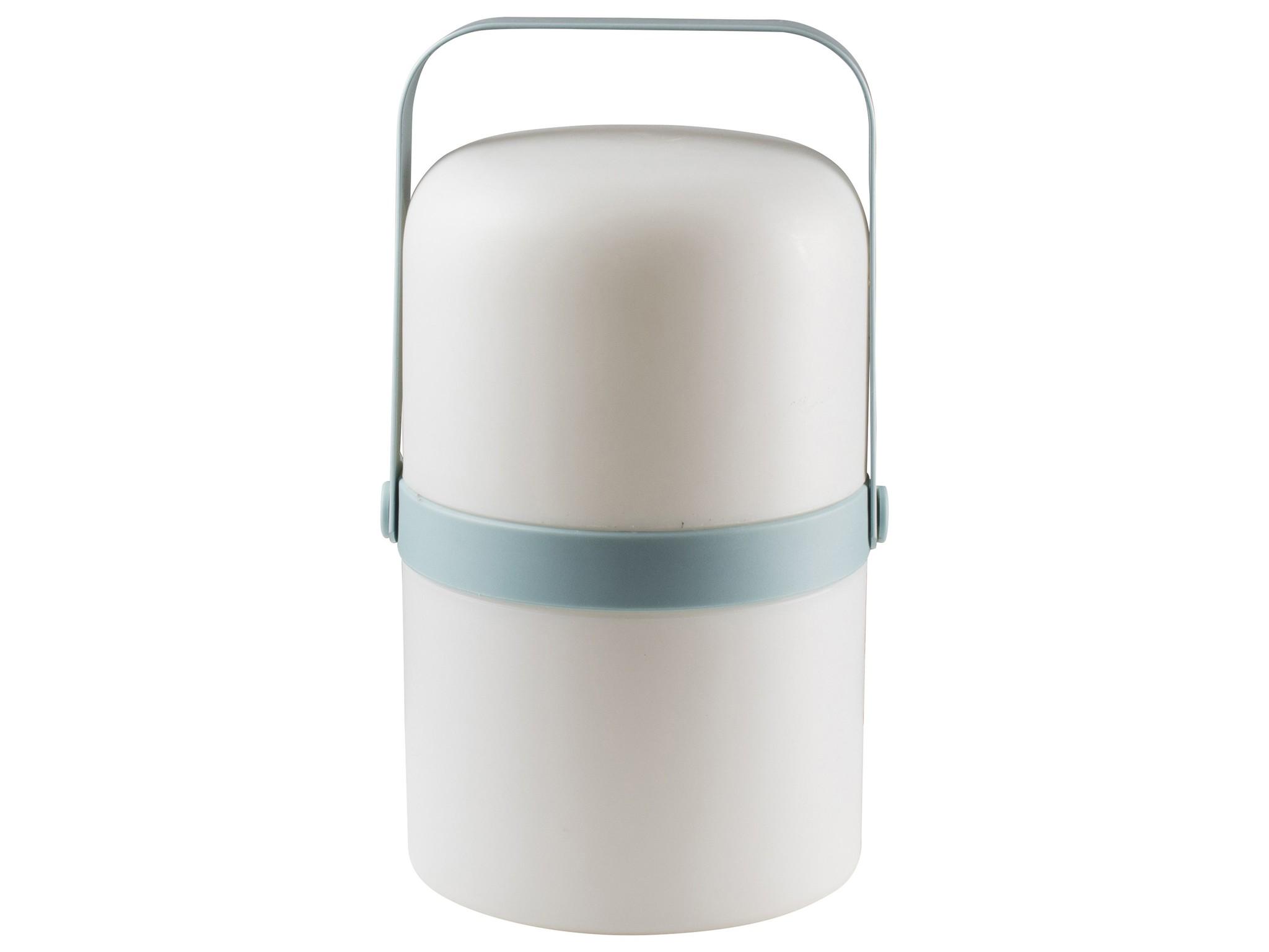 Gusta Gusta LED Lantaarn ø14x25,4cm Blauw