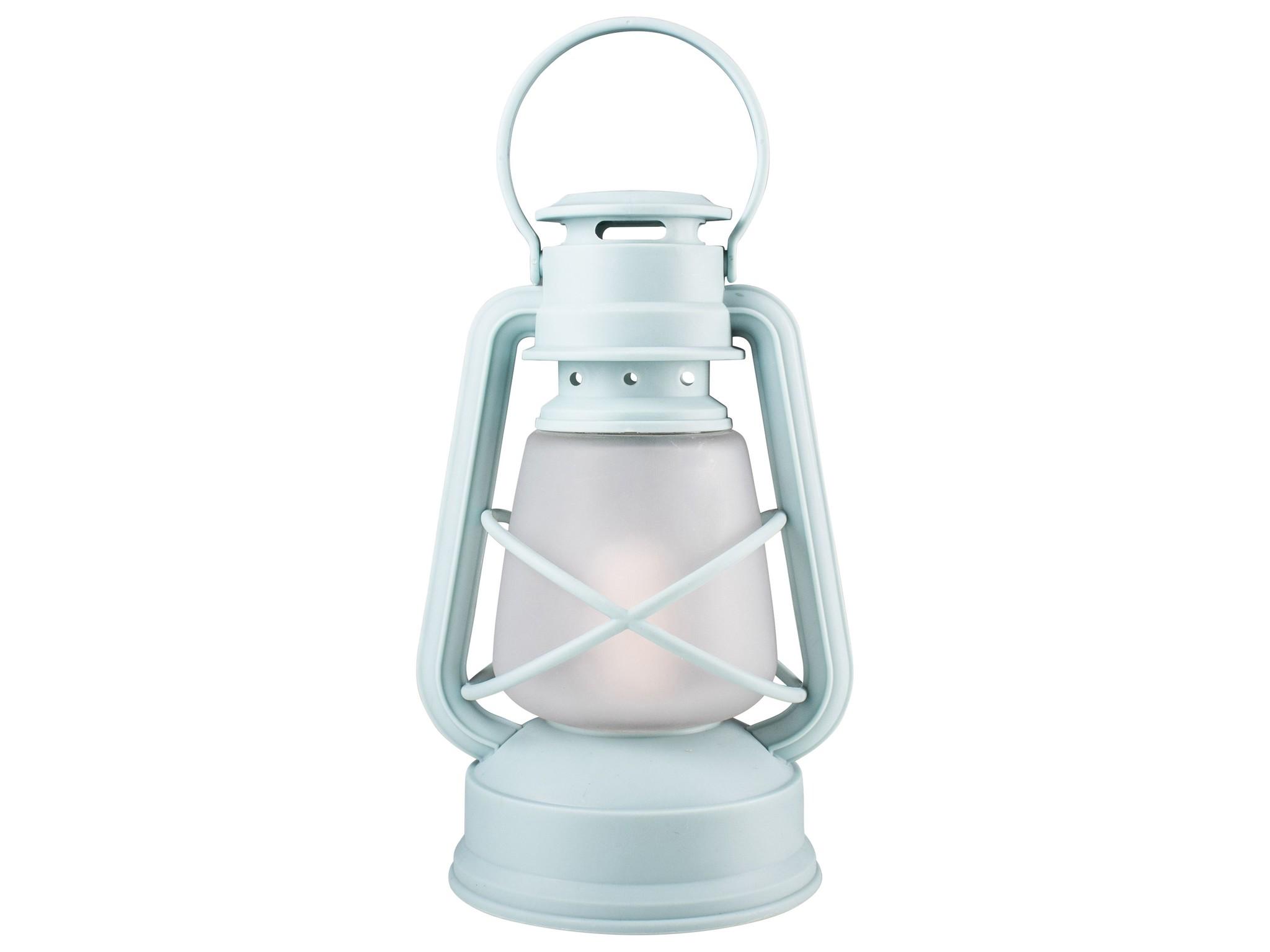 Gusta Gusta Stormlampje LED ø14x24,5cm Blauw
