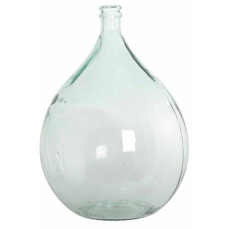 Housedoctor Flaske / vase fra 100% genbrugsglas, ø40cm h56cm 34 liter
