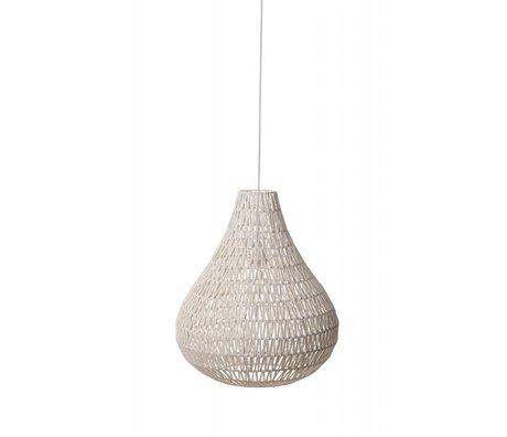 Zuiver Suspendre CableDrop de la lampe, blanc, Ø45cm