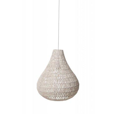 Zuiver Hanging CableDrop lampada, bianco, Ø45cm