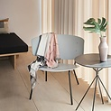 ferm living lounge chair herman graues metall holz. Black Bedroom Furniture Sets. Home Design Ideas