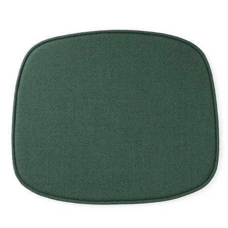 Normann Copenhagen Seat cushion shape green textile 46x39x1cm