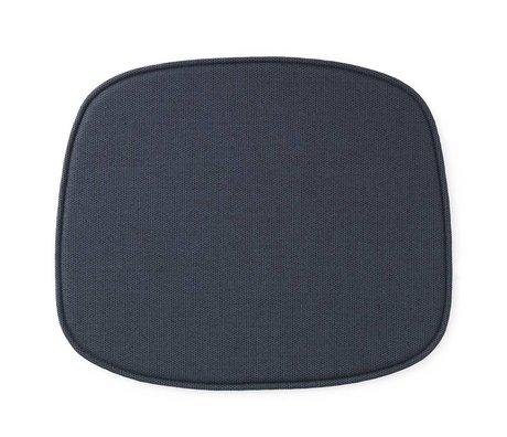 Normann Copenhagen Seat cushion shape blue textile 46x39x1cm