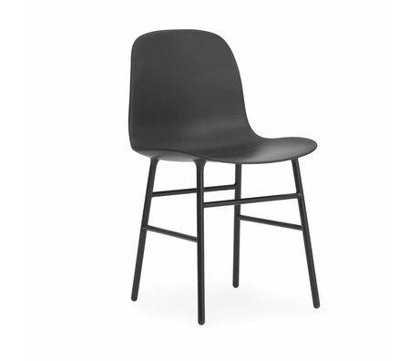 Normann Copenhagen sous forme de chaise de bois plastique noir 48x52x80cm