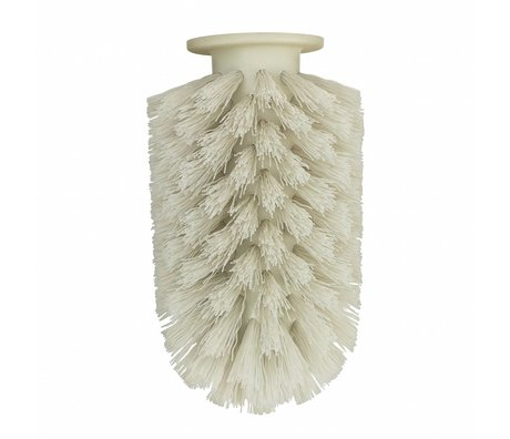 Normann Copenhagen Brush head Ballo gray plastic Ø7,5x12,5cm