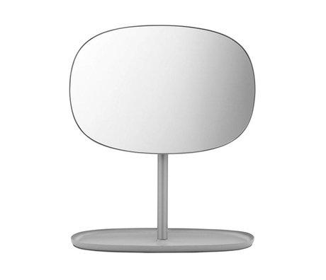 Normann Copenhagen Flip Spiegel Spiegel grau Stahl 28x19,5x34,5cm