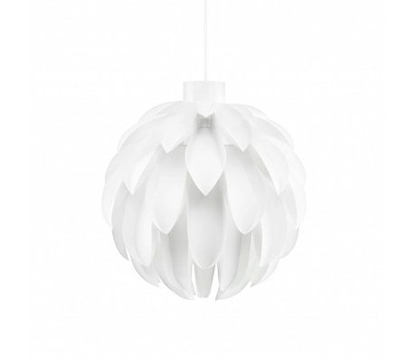 Normann Copenhagen Lámpara colgante 12 estándar hoja blanca L Ø51x51cm