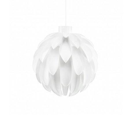 Normann Copenhagen Pendelleuchte Norm 12 weiß folie L Ø51x51cm
