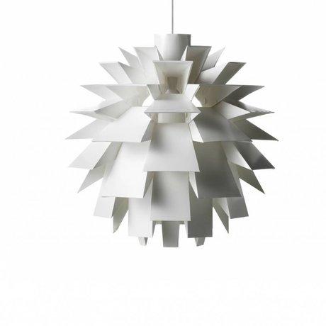 Normann Copenhagen Lampe suspendue Norm 69 film XL Ø60x60cm blanc