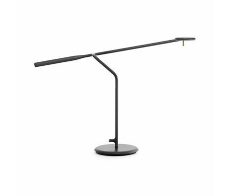Normann Copenhagen Lampe de table flux 58x16x42cm métal noir