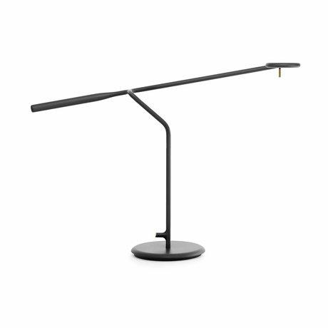 Normann Copenhagen Table light Flow black Metal 58x16x42cm