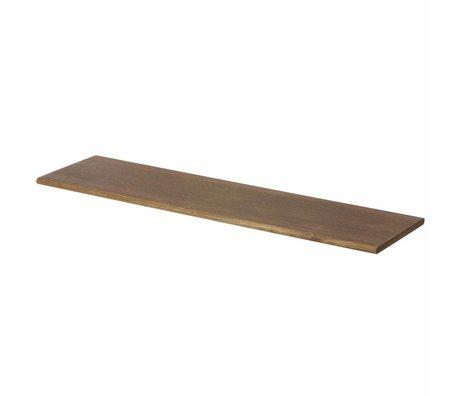 Ferm Living Mensola marrone con gancio nero 85x24.5x24.5cm
