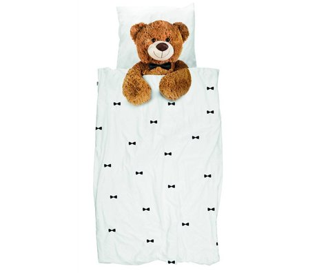 Snurk Bedding Teddy Multicolour cotton 200x200 / 220 cm