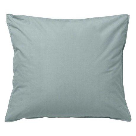 Ferm Living Hush coussin 60x70cm coton organique bleu de poudre