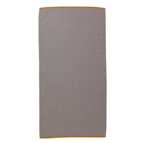 Ferm Living Sento håndklæde grå økologisk bomuld 70x140cm