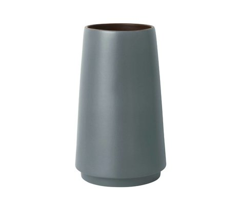 Ferm Living Bodenvase double grès gris S Ø19x31cm