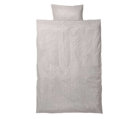 Ferm Living Children's bedding Hush junior milkyway set cream organic cotton 110x140cm incl pillow cover 46x40cm