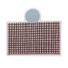 Ferm Living Tovaglietta rosa partito MDF sughero 40x35cm