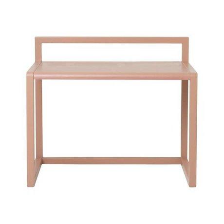Ferm Living Desk Little Architect Pink Ash Veneer 70x45x60cm