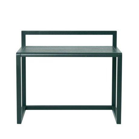 Ferm Living Poco escritorio Arquitecto de ceniza de color verde oscuro chapa 70x45x60cm