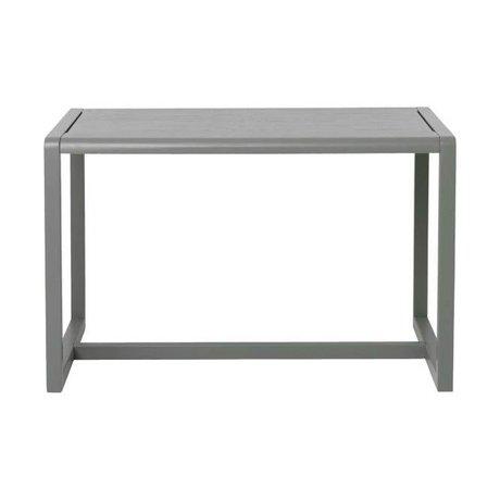 Ferm Living Tabella Piccolo architetto grigio cenere impiallacciatura 76x55x43cm