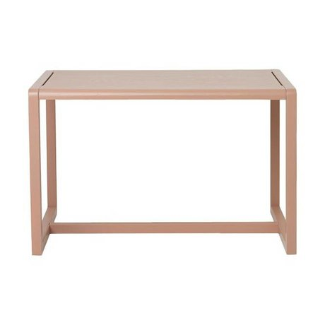 Ferm Living Petite table Architecte Rosa placage de frêne 76x55x43cm
