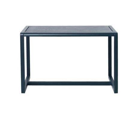 Ferm Living Lidt tabeller Arkitekt mørkeblå aske finér 76x55x43cm