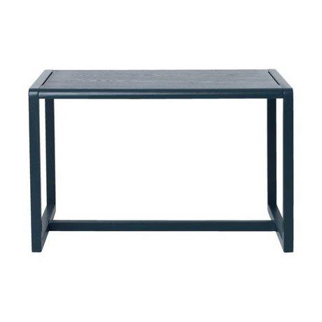 Ferm Living Mesitas Arquitecto ceniza azul oscuro chapa 76x55x43cm