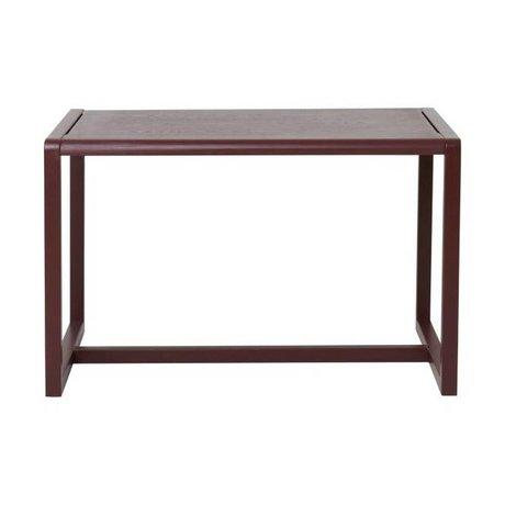 Ferm Living Lidt tabeller Arkitekt Bordeaux Askefinér 76x55x43cm