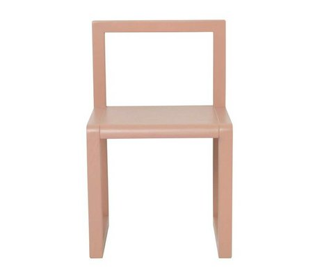 Ferm Living LITTLE Architecte placage de frêne rose 32x51x30cm
