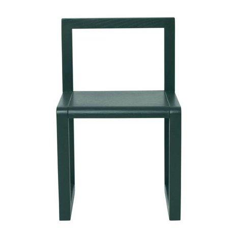 Ferm Living LITTLE Architetto cenere verde scuro impiallacciatura 32x51x30cm