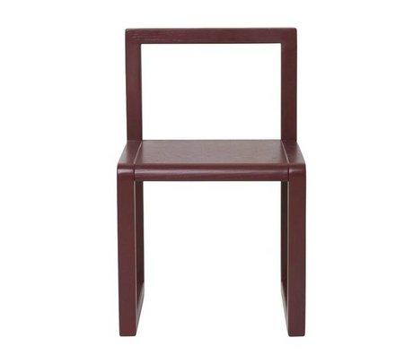 Ferm Living Chair Little Architect Bordeaux ashtray 32x51x30cm