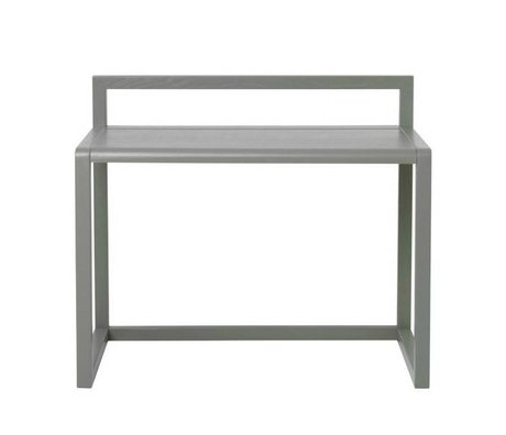 Ferm Living Desk Lille Arkitekt grå aske finer 70x45x60cm