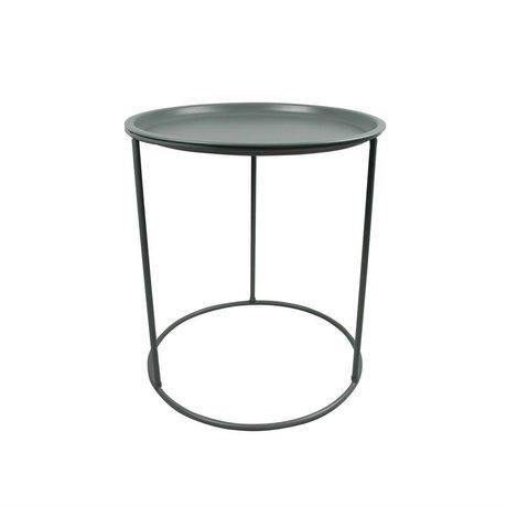 LEF collections Table d'appoint Ivar avec compartiment séparé, vert sapin