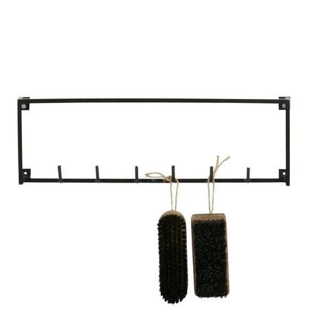 LEF collections Meert armoire 6 crochets noir