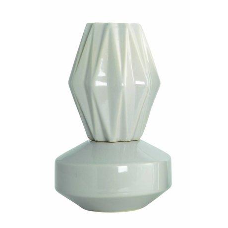 "Housedoctor Vase ""VIP"", sandfarbe, Ø13,5x21cm"