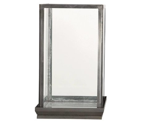 Housedoctor Glas klokke, Ø19x19x33cm