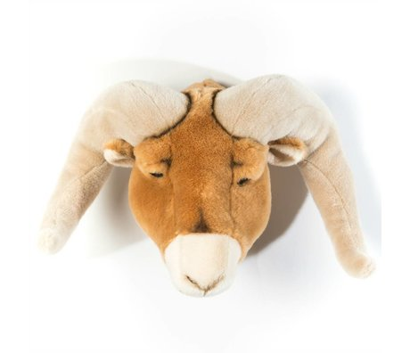 Wild and Soft ram animale Anthony Braun 37x45x30cm textile