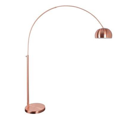 Zuiver Floor Lamp Metal bow copper 190-205cm