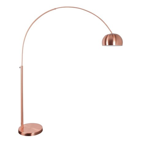 Zuiver Floor Lamp Metal bow copper 190-205cm