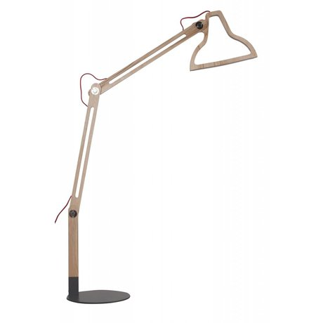 Zuiver Floor Lamp LED-it-be, natural brown, 32x81x165cm