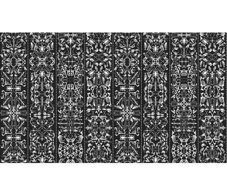 "NLXL-Studio Job Wallpaper ""perì 03"" di carta, bianco / nero, 900x48.7cm"