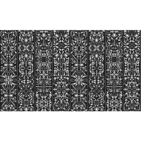 "NLXL-Studio Job Tapete ""Perished 03"" aus Papier, schwarz/weiß, 900x48.7cm"