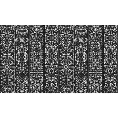 "NLXL-Studio Job Wallpaper ""Perished 03"" papier, noir / blanc, 900x48.7cm"