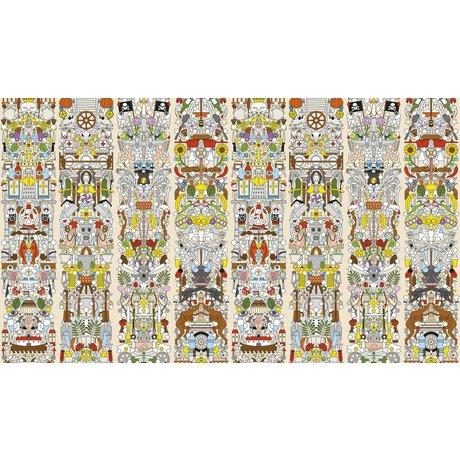 """NLXL-Studio Job Wallpaper """"Old German 04"""" di carta, 900x48.7cm"""